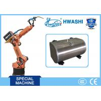 China Auto Mig Industrial Welding Robots For Aluminum Fuel Tank with CE Certificate on sale