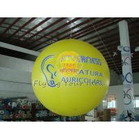 2.5m Yellow Inflatable Advertising Helium Balloons with Total Digital Printing for Party