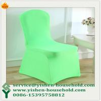 Wholesale Yishen-Household Factory Price beautiful many colors to chose Spandex Chair Cover  Popular Lycra Chair Cover from china suppliers