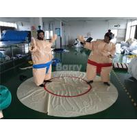 Wholesale Adult Inflatable Sumo Wrestling Suits With Mat For Outdoor Event from china suppliers