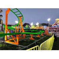 Wholesale 12 Seats 380V Kiddie Roller Coaster With Ethnic Characteristics Decoration from china suppliers