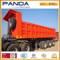 Buy cheap High quality 3 axle 50T tipper semi trailer with HYVA cyclinder, tipper trailer from wholesalers