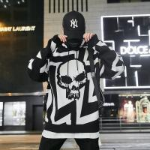 China 2019 Men's New Latest Design Streetwear Hip Hop Fleece Hoodie for sale