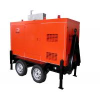 Wholesale Mobile Trailer Mounted Generator 40KW / 50KVA With Silent Canopy And Fuel Tank from china suppliers