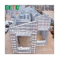 The Cheapest Temporary Building Materials Aluminium Concrete Forms Template Sale Manufacturer/Formwork System Aluminium for sale