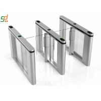 Wholesale Economic Intelligent Supermarket Swing Gate Barrier Bi-Directional Turnstile from china suppliers