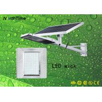 Buy cheap Die-casting Aluminum Material IP65 Split Solar Wall Light 25W 12Hours Lighting from wholesalers