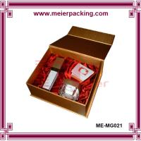 Wholesale Perfume bottle paper box, magnetic cosmetic perfume box, high end paper gift box ME-MG021 from china suppliers
