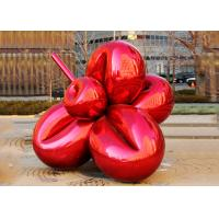 Wholesale Large Metal Plaza Decoration Painted Metal Sculpture Titanium Coating 300cm Length from china suppliers