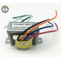 China High Efficiency EI Power Transformer EI Series Class B Insulation With Cable on sale