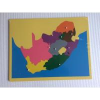 China Montessori Materials - Puzzle of South Africa 57*45cm on sale