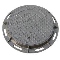 Wholesale Custom Sand Casting Cast Iron Manhole Cover With Frame Antirust Oil Finish from china suppliers