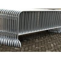 Wholesale Galvanized Temporary Construction Fence Movable Traffic Control Barrier Fence from china suppliers