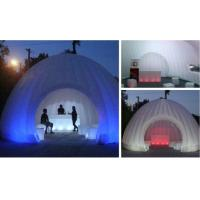 Hot sale advertisin inflatable lighting tent for tea house / inflatable tent with led tent for sale
