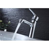 Wholesale Single Lever Contemporary Sink Faucets Chrome Plated Finish With Extra Large Round Spout from china suppliers