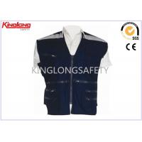 Wholesale Multi Pocket 100% Polyester XL XXL XXXL Reflective Safety Vest For Oil / Gas Station from china suppliers