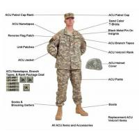Wholesale BDU Army uniform from china suppliers