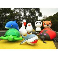 China Cute Animal Inflatable Air Balloon Advertising Dolphin Penguin Panda Turtle on sale