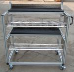 Wholesale Lightweight / Durable FUJI NXT Feeder Trolley , Juki Feeder Trolley Storage Cart from china suppliers