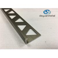 Wholesale 6063-T5 Polishing Bronze Aluminium Extrusion Profile Round Edge Aluminium Trim from china suppliers