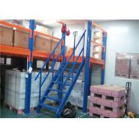 Wholesale Warehouse Storage Mezzanine Floor Racking , Industrial Mezzanine Systems Loading Capacity 300-1000KG/㎡ from china suppliers