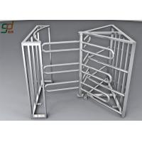 Wholesale Entrance Automation Full Height Turnstile Security Systems Single / Bi - Directional from china suppliers