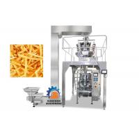 Wholesale High Efficiency Vertical Automatic Packaging Machine For Popcorn , Snack Foods 1000ML Volume from china suppliers
