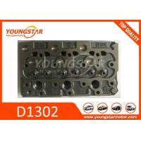 China Casting Iron Kubota Cylinder Head / Truck Spare Parts D1402  D1100 D1503 for sale