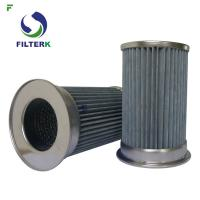 Wholesale Pleated Vacuum Pump Filter Element , Clean Side Removal Vacuum Pump Inlet Filter from china suppliers