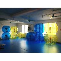 Quality Kids / Adults Inflatable Soccer Bubble Ball With Urable Plato TPU for sale