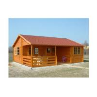 Wholesale Environmental Friendly Outdoor Wooden House 800*700cm With 2 Bedrooms from china suppliers
