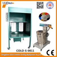 Wholesale Powder Coating Spray Booth Manual Temporary Spray Booth For Metal Accessories from china suppliers