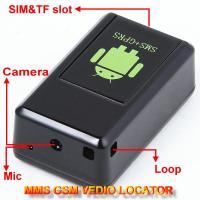 Wholesale GF-08 GSM MMS Video Photo Transmit Camera Recorder GPS Tracker Aduio Listening Bug 3-in-1 from china suppliers