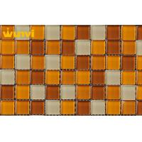 Wholesale OEM polished Swimming Pool Mosaic Tiles , Mosaic Floor Tiles For Bathroom from china suppliers