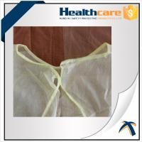 PP 20Gsm Disposable Isolation Gowns 115x127cm , Disposable Hospital Theatre Gowns