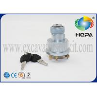 China 5 Terminal Wire Ignition Switch / Start Switch For  CAT E320B 3E-0156 Excavator on sale