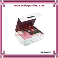 Wholesale China supplier custom gift packaging paper box with plastic handle europe style ME-MG007 from china suppliers
