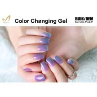 Wholesale Multi Colored Mood Changing Nail Polish Gel Heat Changing Nail Varnish 2 Minute Dry from china suppliers