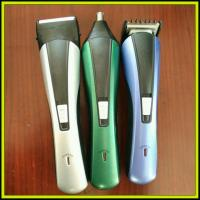 China NHC-2012 3 In 1 Hair Nose Beard Men's Hair Trimmer Rechargeable Hair Clipper Barbo Trimmers on sale