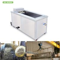 Heat Exchangers Ultrasonic Engine Cleaner Engine Carbon Cleaning Machine For Automotive Industry