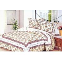 Wholesale 100% Cotton Quilted and Printed Comforter Set, Bedspread Set, from china suppliers