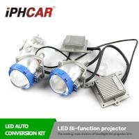 Wholesale IPHCAR Top Qaulity Led Headlight Korea LG Chip 5500K Led Bi Xenon Lens H1 H4 H7 Auto Led Light Lamp from china suppliers