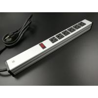 Quality Universal Mountable Six Socket Extension Cord Power Strip Dustproof Aluminum for sale