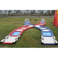 Wholesale Wonderful Inflatable Zorb Ball Race Track PVC / TPU Material Inflatable Outdoor Games from china suppliers
