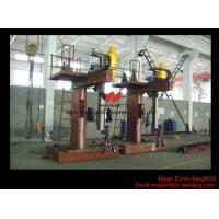 Wholesale L Shape Column And Boom H Beam Welding Machine for H Beam Welding Line 15m Rail from china suppliers