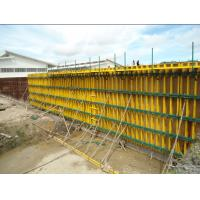 Custom Concrete Wall Formwork With H20 Timber Beam For Building for sale