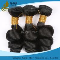No Fibers Virgin Human Hair Extensions Without Chemical Processing / Bleaching