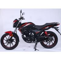 China Wet Multichip Gas Powered Motorcycle For Long Distance Travel Double Reduction on sale
