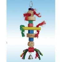 Wholesale natural sisal and wicker ball bird toy perfect for shredding from china suppliers