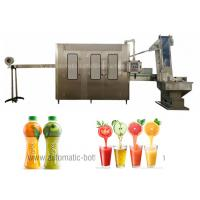 Wholesale SGS Juice Bottling Machine , Turkey Pet Bottling Line For 4000BPH Capcity from china suppliers